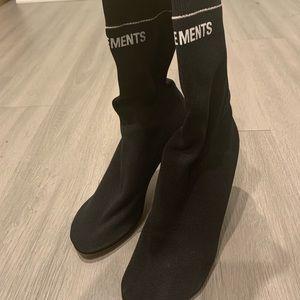 vetements lighter socks boots